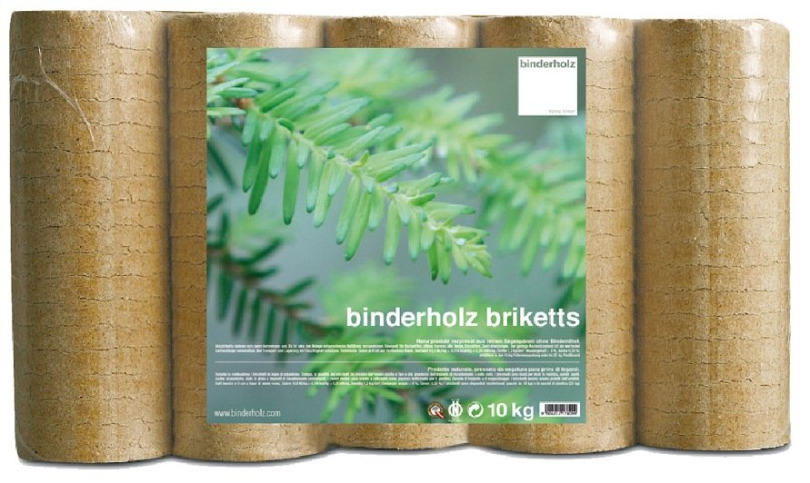Bricchetto austriaco binderholz confezione kg 10