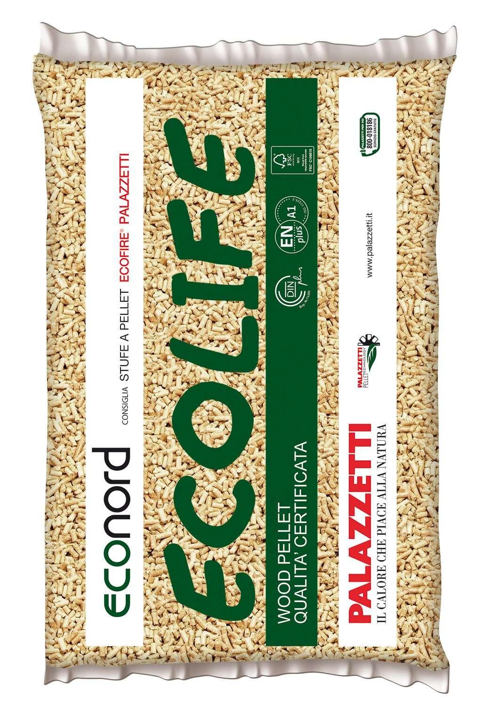 sacchetto pellet ecolife da kg 15