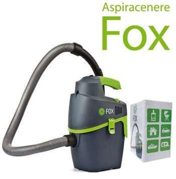 Aspiracenere soteco portatile leggero e compatto per pulizia semplice e veloce
