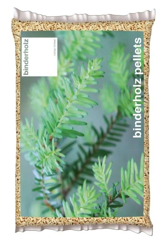 Sacchetto pellet austriaco Binderholx kg 15