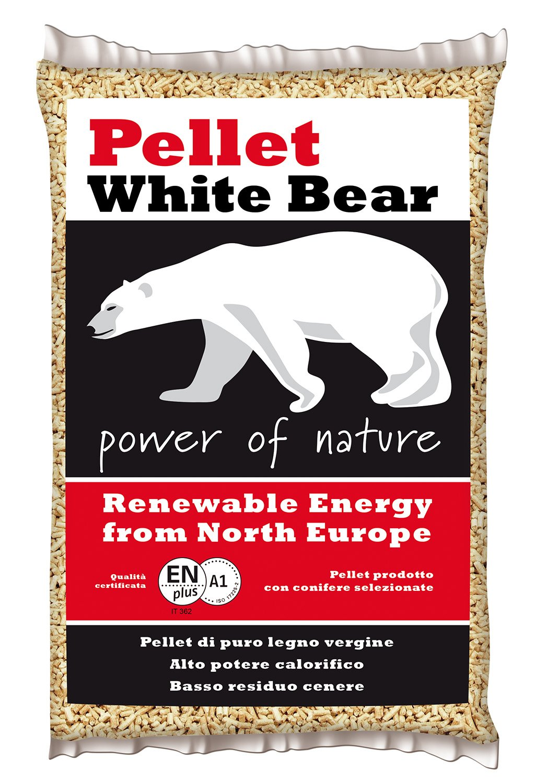 pellet americano white bear sacco kg 15