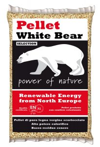 Pellet White Bear Selection fronte