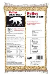 Pellet White Bear Selection retro