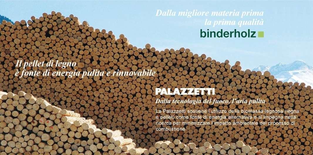 Econord Palazzetti Binderholz pellet